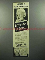 1945 Libby's Baby Food Ad - Extra Easy to Digest