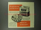 1945 Armour Treet Meat Ad - Meal-Ready