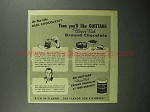 1945 Guittard Chocolate Ad - Do You Like?