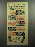 1946 Certo Pectin Ad - Now is the Time To Jell Them