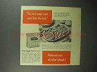 1946 Armour Treet Meat Ad - Meal-Ready