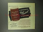 1946 Guittard Flavor-rich Ground Chocolate Ad!l