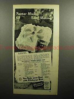 1947 Pillsbury Best Flour Ad - Faster Mixing
