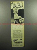 1947 Libby's Baby Food Ad - Extra Easy to Digest