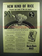 1948 Uncle Ben's Rice Ad - New Kind of Rice