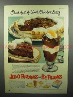 1952 Jell-O Pudding & Pie Fillings Ad - Swell