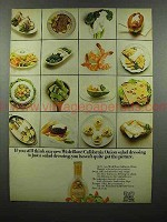 1972 Wish-Bone California Onion Salad Dressing Ad!