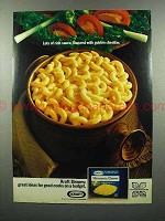 1972 Kraft Macaroni & Cheese Dinner Ad - Rich Sauce