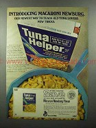 1973 Betty Crocker Tuna Helper Ad - Macaroni Newburg