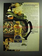 1974 Planters Oil Ad - Cooking Authentic Sukiyaki