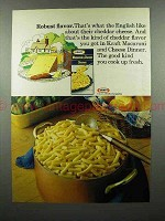 1975 Kraft Macaroni & Cheese Ad - Robust Flavor