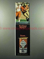 1975 Tabasco Bloody Mary Mix Ad - Football Party?
