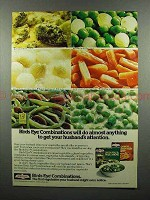 1977 Birds Eye Combination Vegetable Ad