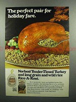 1977 Rice-a-roni & Norbest Tender-Timed Turkey Ad