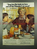 1978 Tang Drink Mix Ad w/ Florence Henderson
