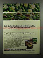 1978 Birds Eye Combinations Frozen Vegetables Ad