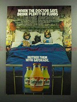 1979 Gatorade Drink Ad - Doctor Says Drink Fluids