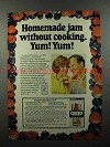 1979 Certo Pectin Ad - Homemade Jam Without Cooking!