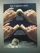 1988 Claussen Pickle Ad - How to Appraise a Pickle