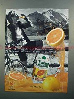 1997 Tropicana Pure Premium Grapefruit Juice Ad