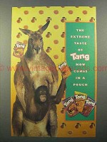 2000 Tang Drink Pouch Ad - The Extreme Taste