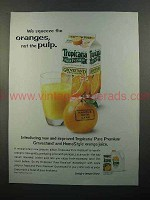 2001 Tropicana Grovestand Orange Juice Ad