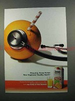 2004 Tropicana Healthy Heart Orange Juice Ad