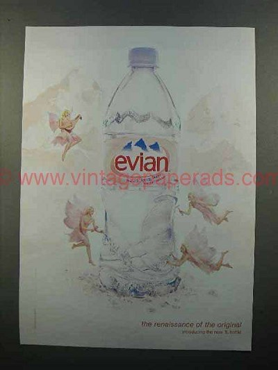 2004 Evian Water Ad - The Renaissance of the Original