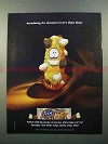 2004 Nabisco Chips Ahoy White Fudge Chunky Cookie Ad
