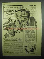 1940 Sperry Drifted Snow Flour Ad - Christmas Cookies