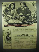 1944 Sperry Drifted Snow Flour Ad - Old Town Tea Cakes