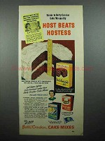 1950 Betty Crocker Devil's Food Cake Mix Ad