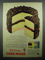 1952 Betty Crocker Cake Mixes Ad - Fresh or Dried?