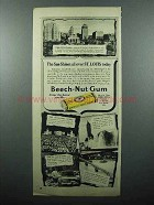1948 Beech-Nut Gum Ad - Sun Shines over St. Louis Today