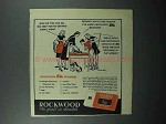 1948 Rockwood's Chocolate Bits Ad - All The Help