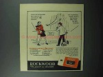 1948 Rockwood's Chocolate Bits Ad - Elephant