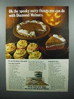 1980 Diamond Walnuts Ad - Spooky Nutty Things