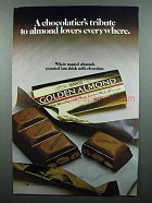 1983 Hershey's Golden Almond Chocolate Ad