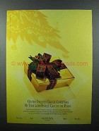 1996 Godiva Chocolate Ad - Finally Got to the Point