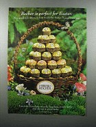 2001 Ferrero Rocher Chocolate Ad - Perfect For Easter