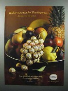 2003 Ferrero Rocher Chocolate Ad - Perfect Thanksgiving