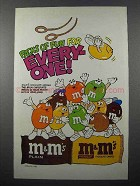 1985 M&M's Candy Ad - Gymnast - Packs of Fun