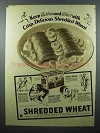 1936 Nabisco Shredded Wheat Cereal Ad - Keep Active