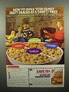 1977 Nabisco Spoon Size Shredded Wheat Cereal Ad