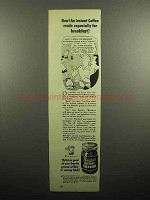 1946 Borden's Instant Coffee Ad - For Breakfast