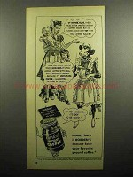 1948 Borden's Instant Coffee Ad - Of Course, Elsie