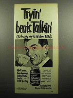 1951 Chase & Sanborn Instant Coffee Ad - Beats Talkin'