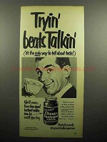 1952 Chase & Sanborn Instant Coffee Ad - Beats Talkin'