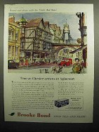 1959 Brooke Bond Tea Ad - Chester Arrows at Agincourt