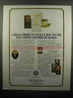 1987 Gevalia Coffee Ad - A Regal Bribe to Induce You